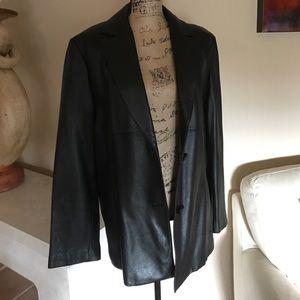 Wilsons Genuine Leather Blazer 2X