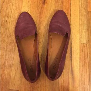 Madewell plum loafers