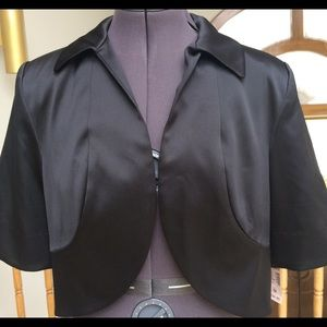 Black Shrug Jacket Size M