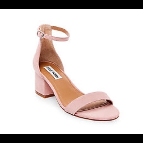 4cdf6b05052e Steve Madden Irene light pink kitten heels