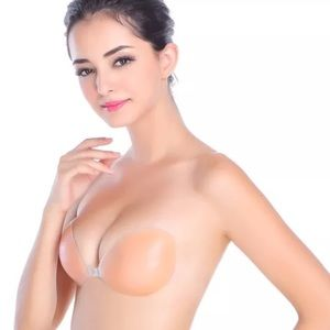 Backless Strapless Silicone Nude Adhesive Bra