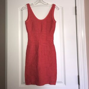 Dresses & Skirts - Coral Mini Dress - Size S/M