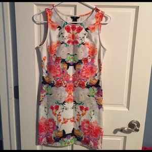 Floral H&M mini dress