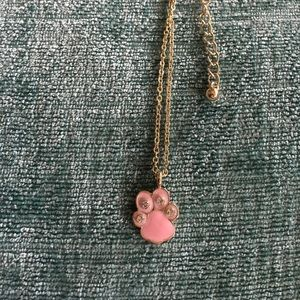 SALE 🎀Gold Plated Paw Print Necklace