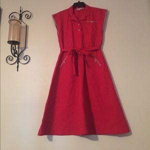 Dresses & Skirts - Vintage Townhouse Dress (1950s style) Red A-Line