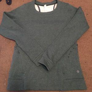 Green lululemon sweater