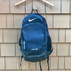 NIKE Max Air Backpack (Navy)