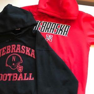 Other - 2 Nebraska sweatshirts