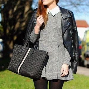 Dresses & Skirts - Gray Sweater Skater Dress