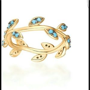 Jewelry - RL NWT Turquoise Sapling Ring