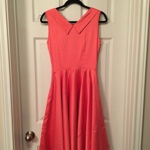 Trashy Diva Dresses Honey Dress In Coral Satin Poshmark