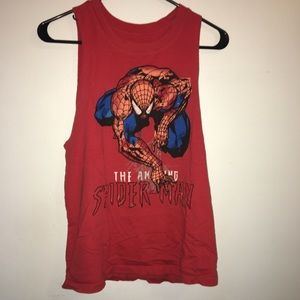 Spider-Man Graphic Muscle Tee