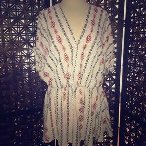 Tribal Print Dress/Top
