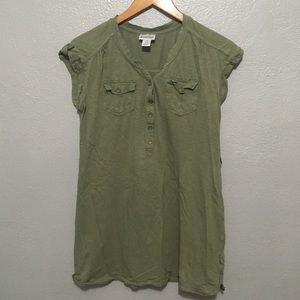 Motherhood Maternity Olive Green Top