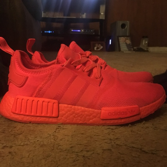 Adidas Shoes Nmd R1 Solar Red 2017 Poshmark