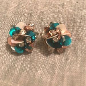NWOT Baublebar Confetti Earrings