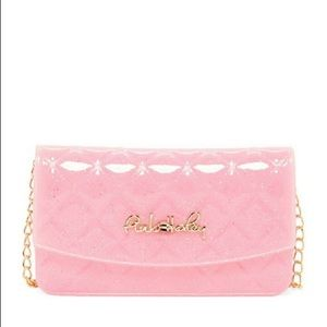 One Left! Pink Haley Pink Jelly Crossbody