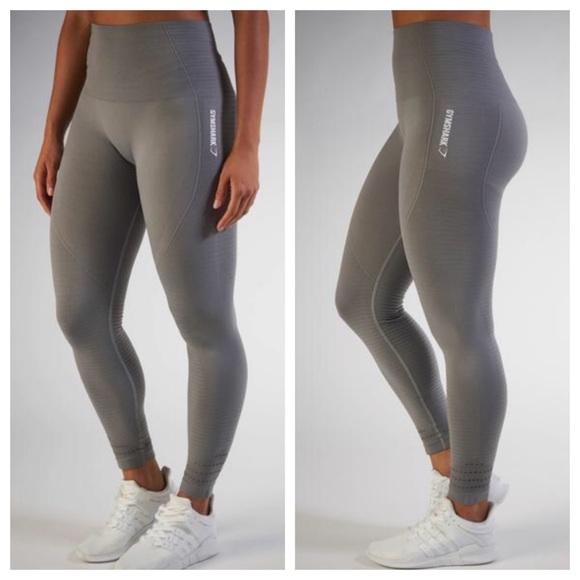 1bef4f1d807a0 Gymshark Pants | High Waist Seamless Leggings Grey Xs | Poshmark