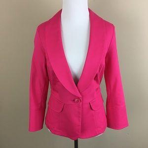CAbi Textured Cotton Twill Blazer Style #310