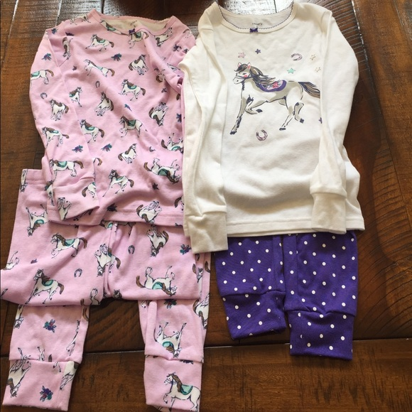 f0cc048b4b Carter s Other - ✨Bundle✨ Carter Girls Horse 🐴 PJs size 6 NWOT
