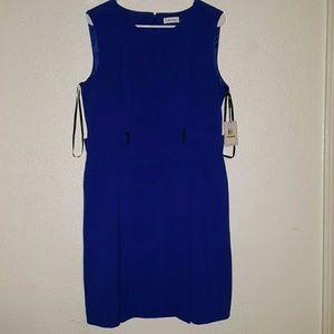 Calvin Klein royal blue dress