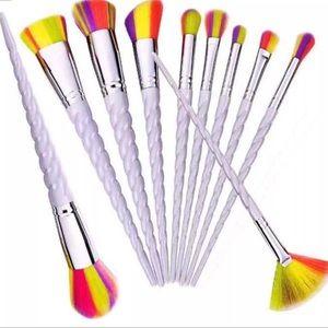 Other - 🌹🌹New 10pcs Rainbow Unicorn Brushes Set