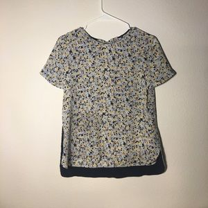 Zara top with bows in the back