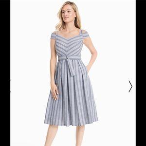 WHBM Cold Shoulder summer dress
