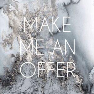 ✨Make me an offer!✨