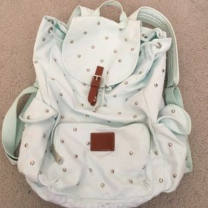 VS pink studded backpack