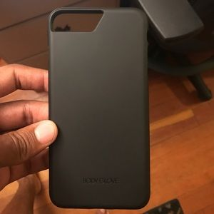 Other - iPhone 7 Plus 📱 black body glove case 📱