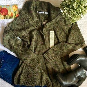 Liz Claiborne knit cardigan sweater
