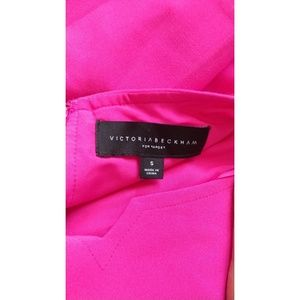 NWOT Victoria Beckham Target Hot Pink dress