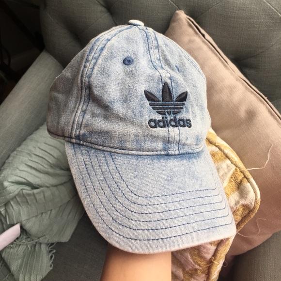 NEW ADIDAS Originals Relaxed Denim Men Unisex hat c1bce64a8163