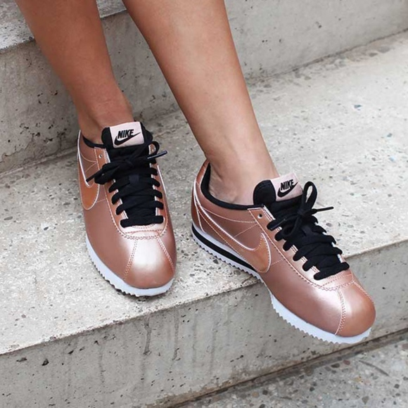 save off 41a10 8b5ce ... new zealand limited edition rose gold nike cortez 04e32 ccd85