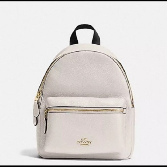 ded53c2b13 COACH MINI CHARLIE BACKPACK IN PEBBLE LEATHER Boutique