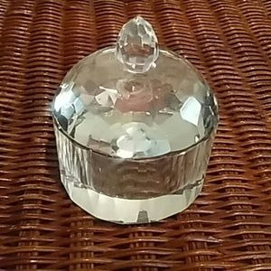 Fashion Jewelry Jar with Lid 3.5""