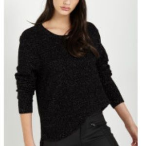 Black knit Sparkle Sweater