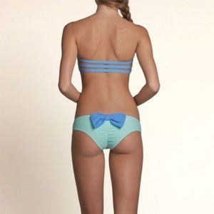 HOLLISTER cheeky bow swim bottoms