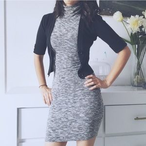Dresses & Skirts - Heather Gray turtleneck dress