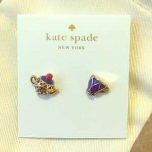 Kate spade teatime stud earrings