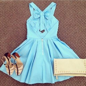 Dresses & Skirts - Sky blue dress