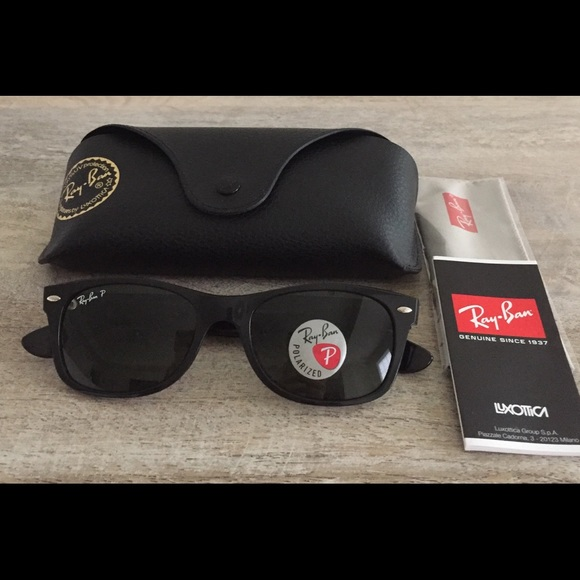 Ray-Ban Accessories   New Wayfarer Classic Polarized Rb2132 901 5218 ... d83a9f5778fe