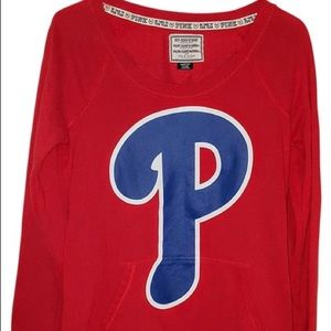 """💕💕VS""""PINK"""" 🌺PHILLIES🌺PULLOVER💕M💕💕"""