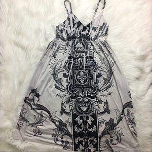 Dresses & Skirts - Braided strap midi dress with rime-stones!😍