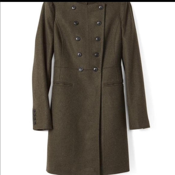 Banana Republic Jackets & Blazers - NWT Banana Republic Melton Wool Military Coat