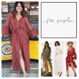 🆕Free People Most Loveliest Hoodie Dress.  NWOT.