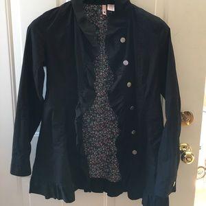 Jackets & Blazers - Adorable ruffle trimmed jacket!