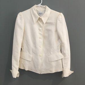Armani Collezioni cream color blazer