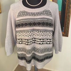 ⭐️OLD NAVY EMBELLISHED SWEATER 💯AUTHENTIC